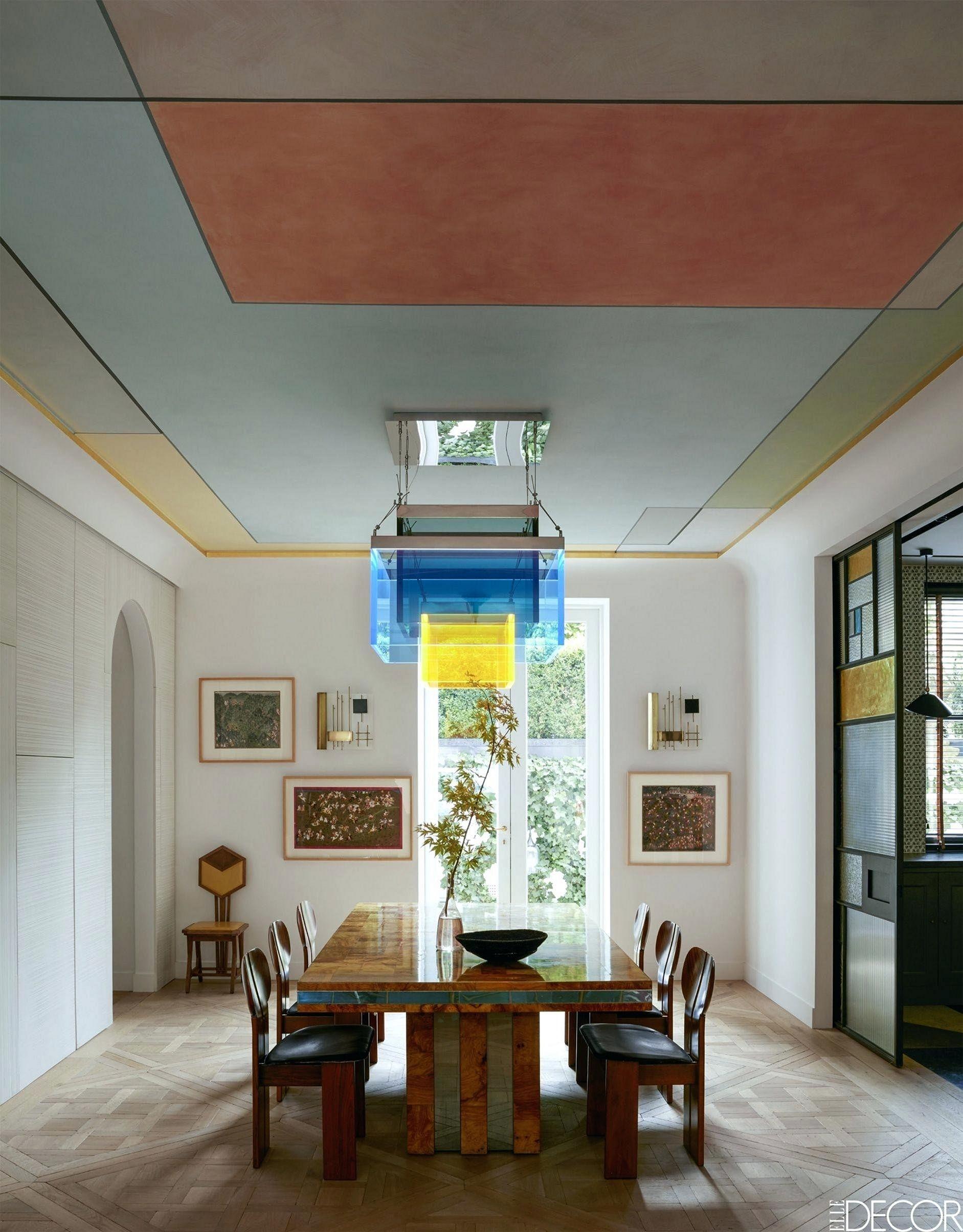 Pastel Color Paint Ceiling Ideas