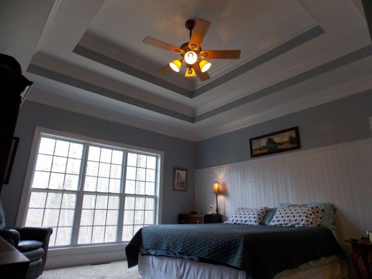 White Paint Ceiling Design