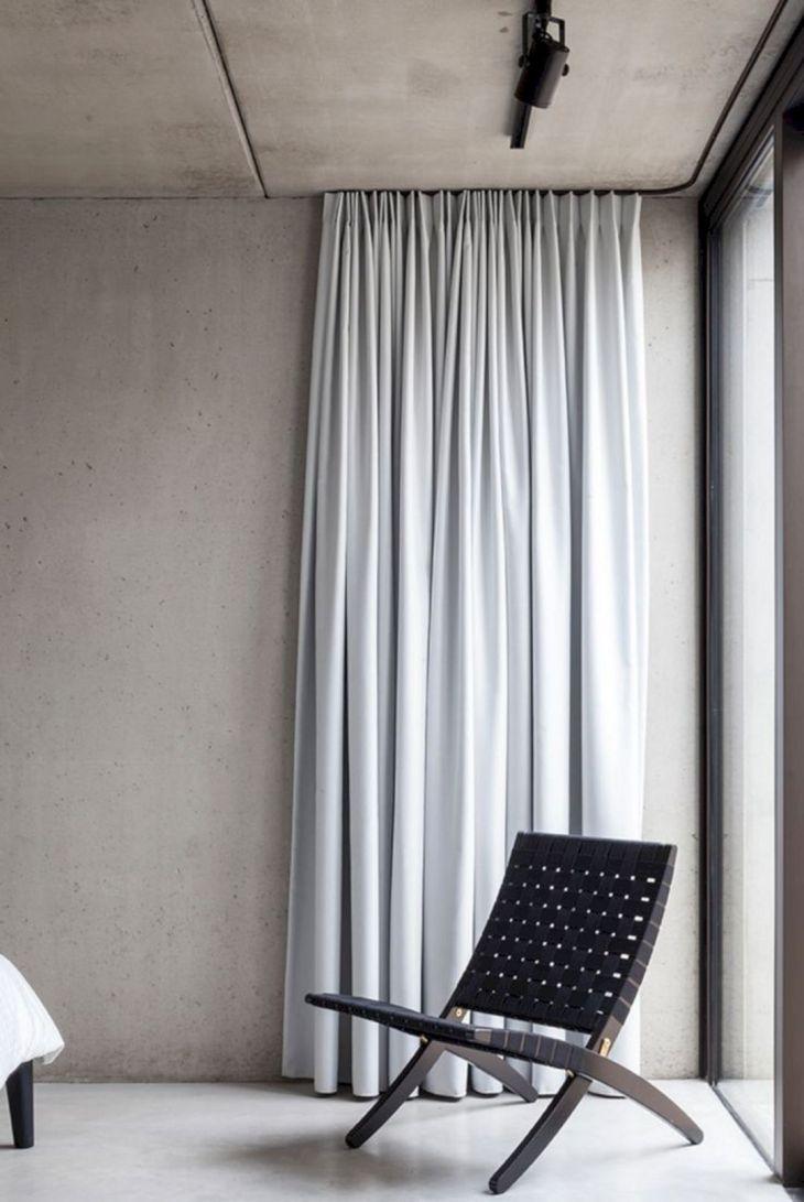 Minimalist Curtain With Hidden Rail