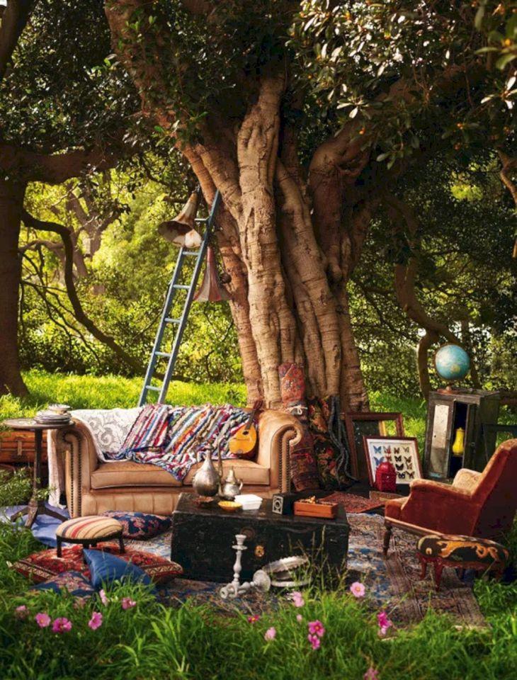 Best Bohemian Garden Decoration