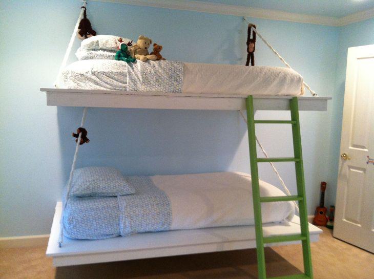 Hanging Bunk Bed Design