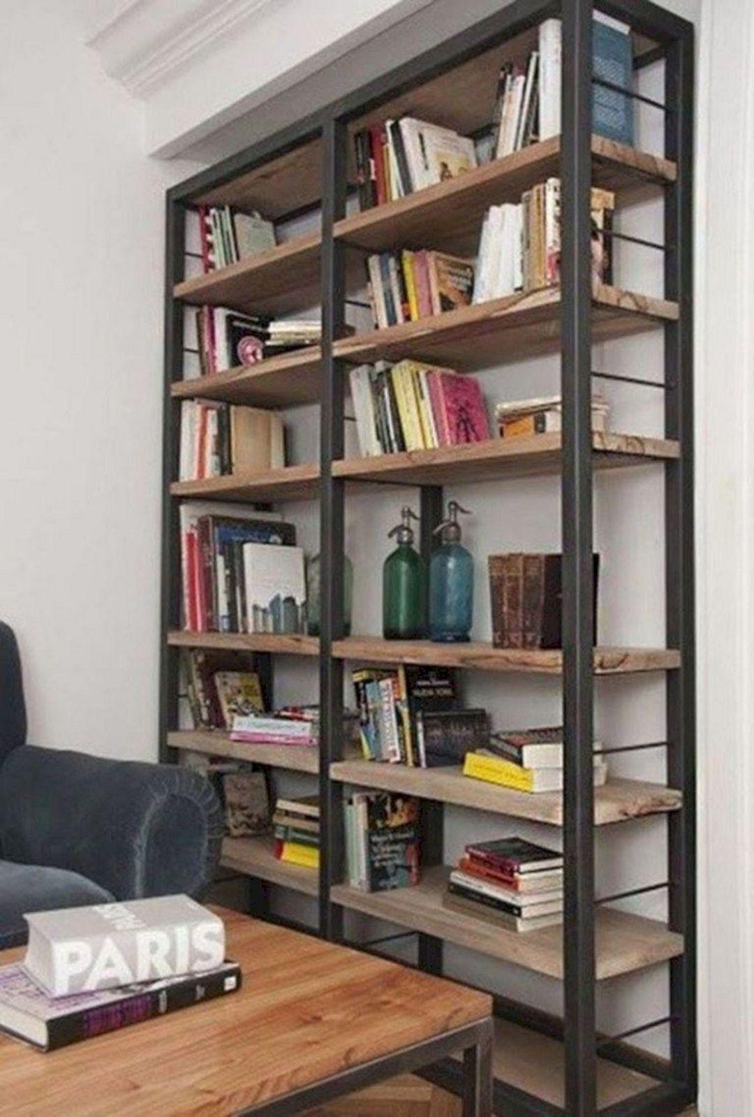Industrial Bookcase Design