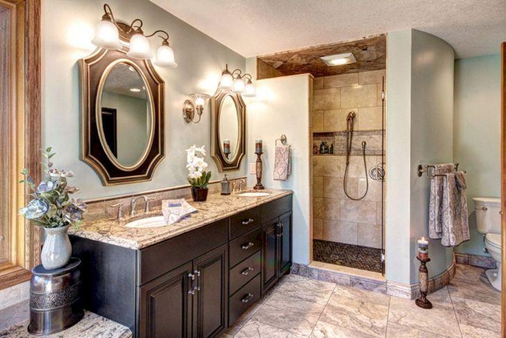Oval Rustic Bathroom Mirror Ideas