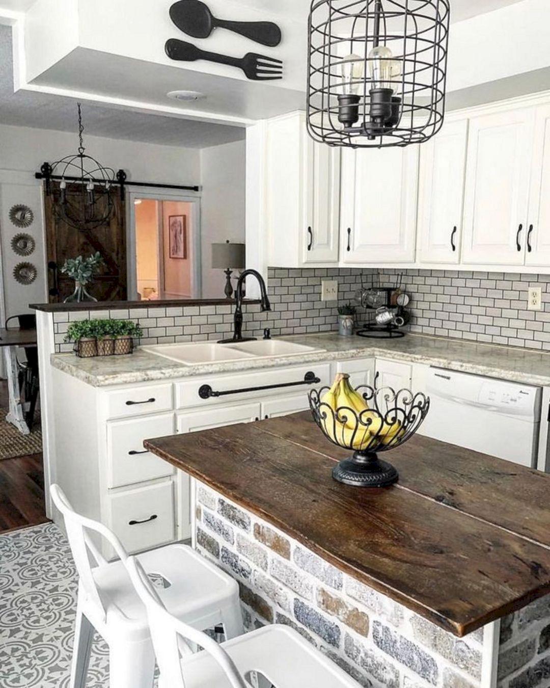 Rustic Farmhouse Kitchen Style