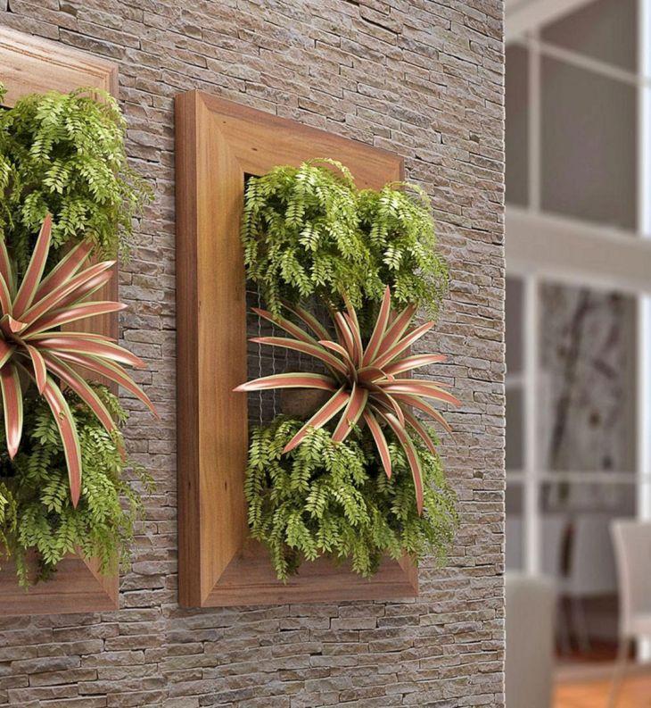 Simple Wall Garden Ideas