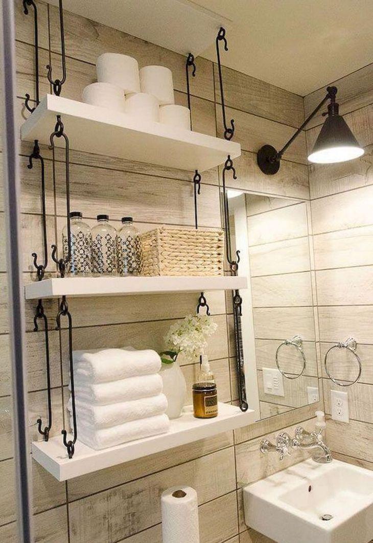 Vintage Small Bathroom Storage