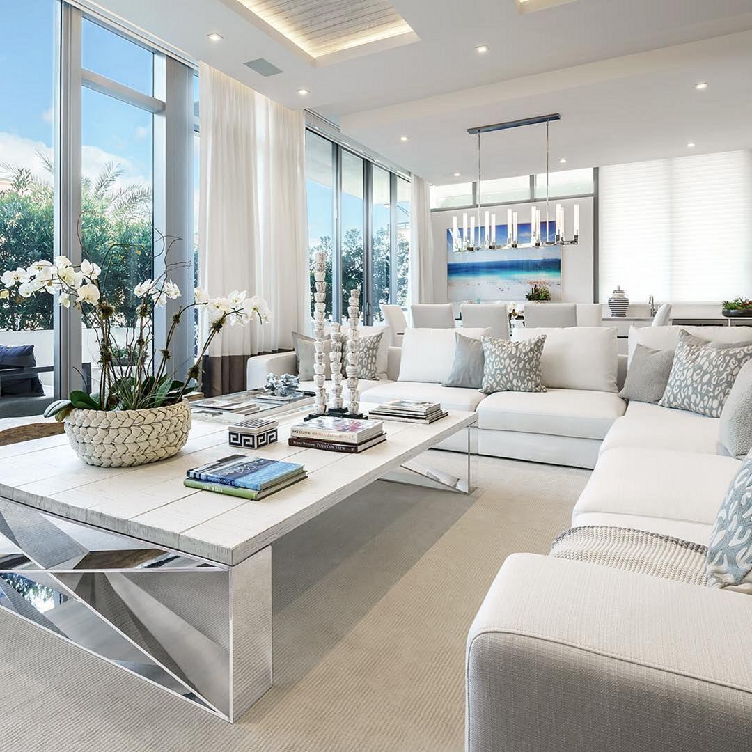 Best Modern Coastal Living Room Ideas