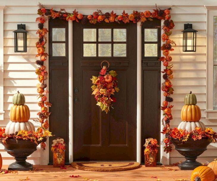 Decorative Fall Front Porch Ideas