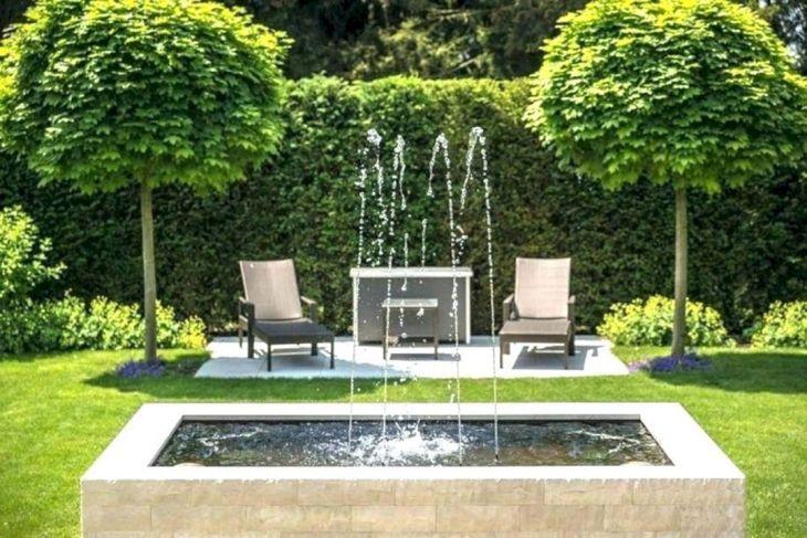 Front Garden Ideas With Fountain Ideas