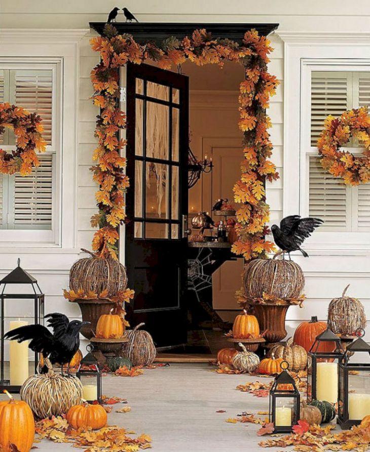 Halloween Front Door Design