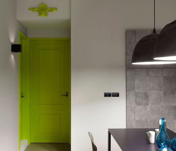 Home Door Ideas With Bright Color