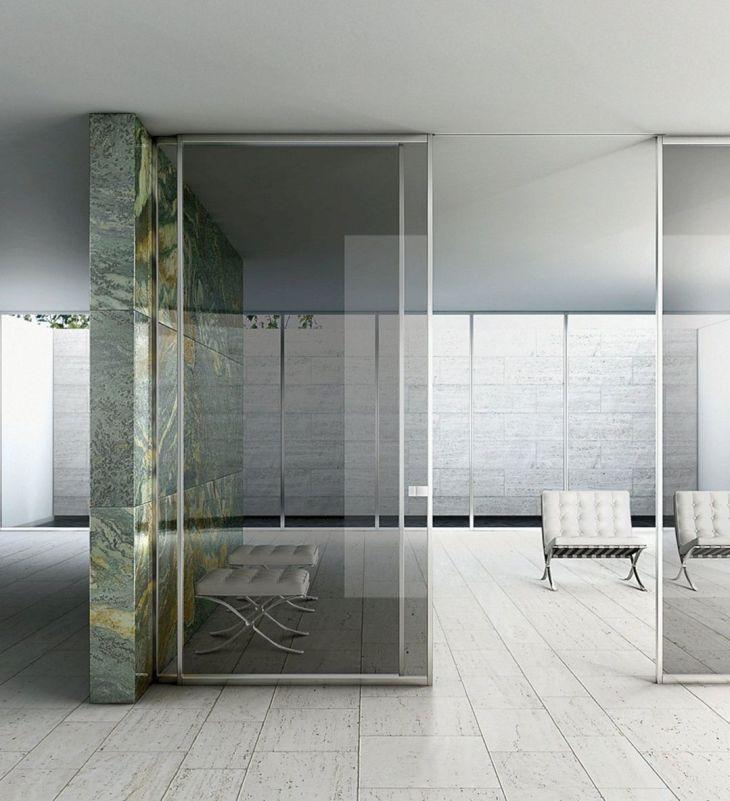 Modern Glass Door Design