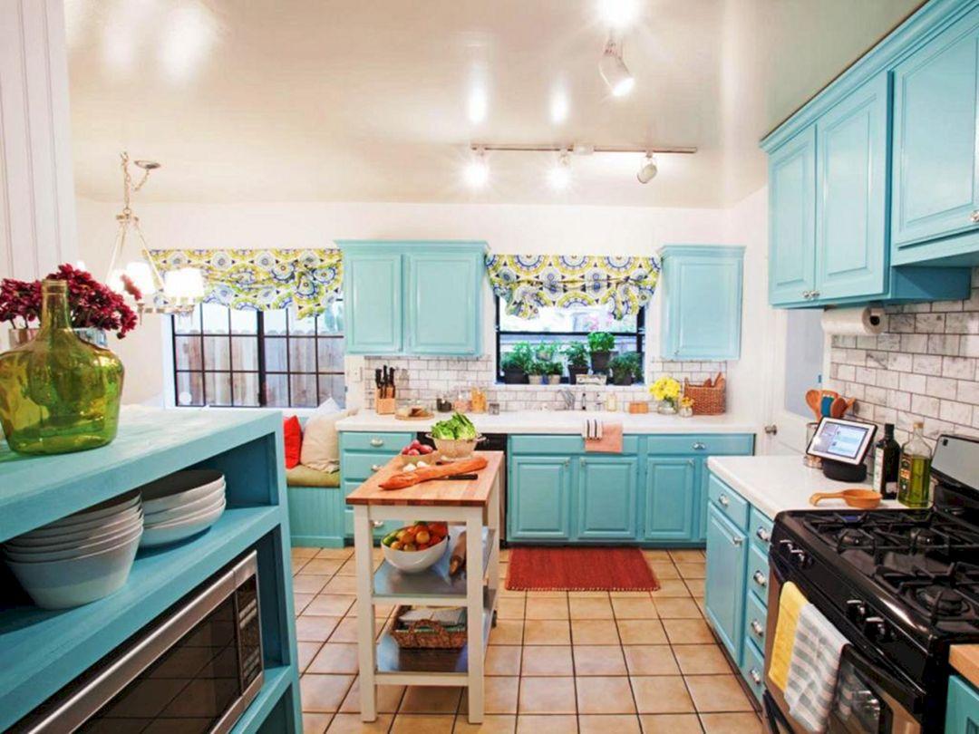 Retro Kitchen Color Combination