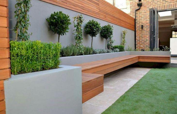 Wood Accent Garden Design