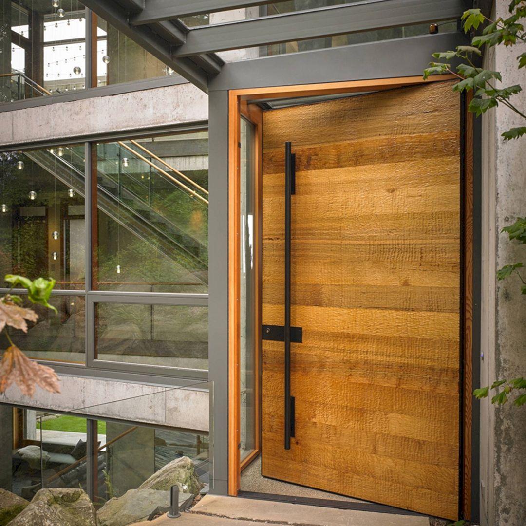 Wooden Home Door Design