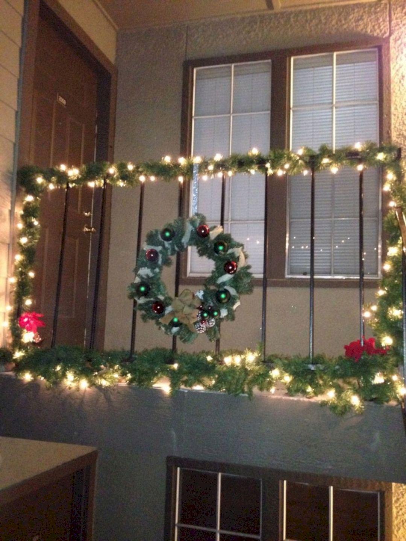 Awesome Christmas Balcony Ideas - DECOREDO