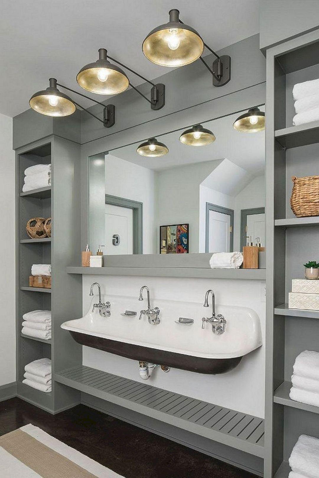 Cottage Bathroom Sink Ideas