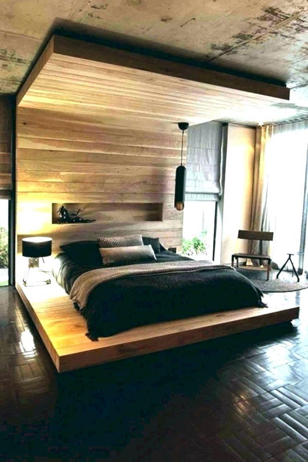 DIY Floating Bed Frame Design