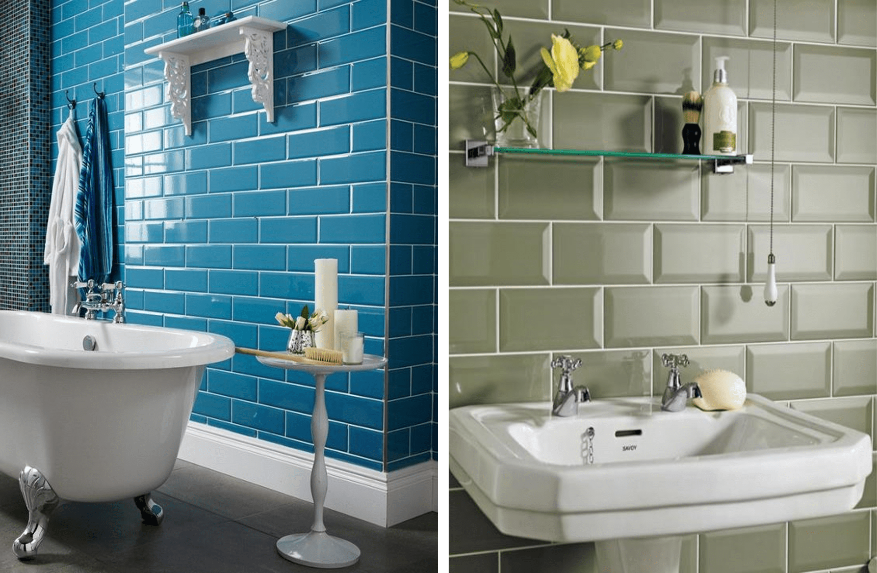TENDNCIA NA DECORAO Azulejo de Metr ou Subway Tiles