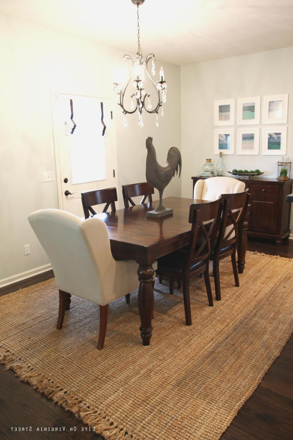 Best Cheap Rugs for Under Kitchen Table 16