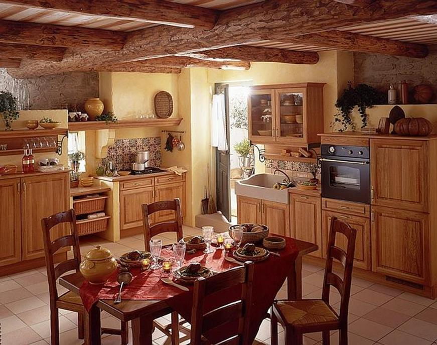 Country Kitchen Accessories and Decor Ideas 37