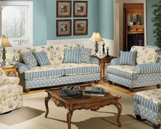 Country Style Living Room Furniture Ideas 15