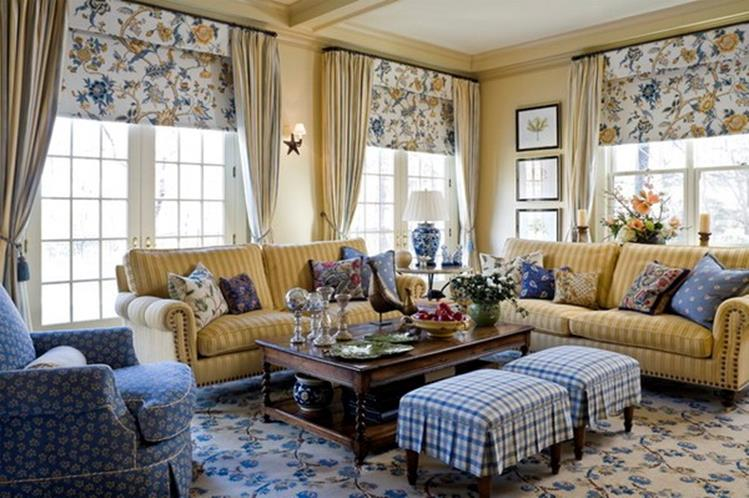 Country Style Living Room Furniture Ideas 24