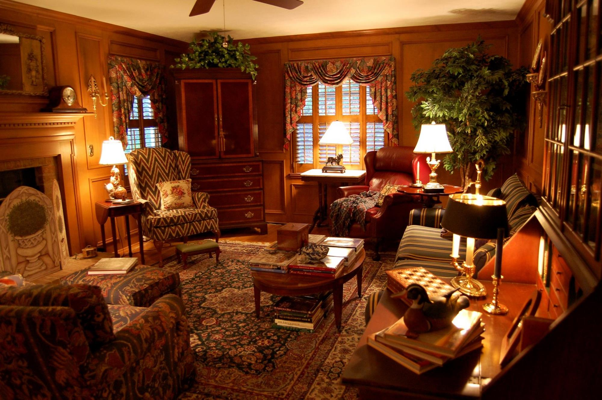 Country Style Living Room Furniture Ideas 3