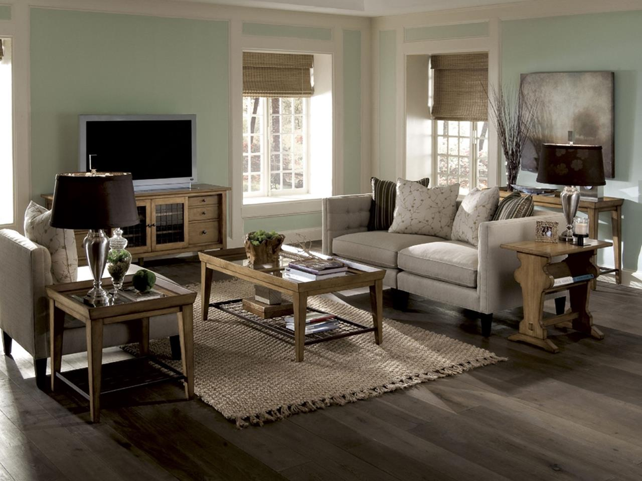 Country Style Living Room Furniture Ideas 31