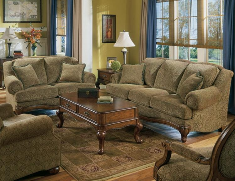 Country Style Living Room Furniture Ideas 32