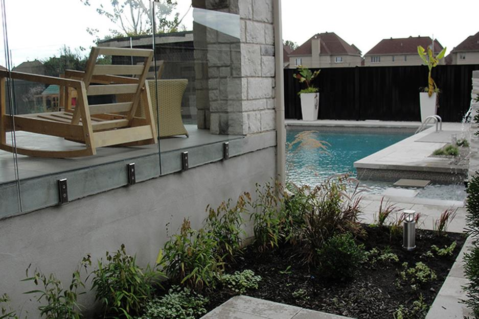 Low Maintenance Landscaping around Pool 20