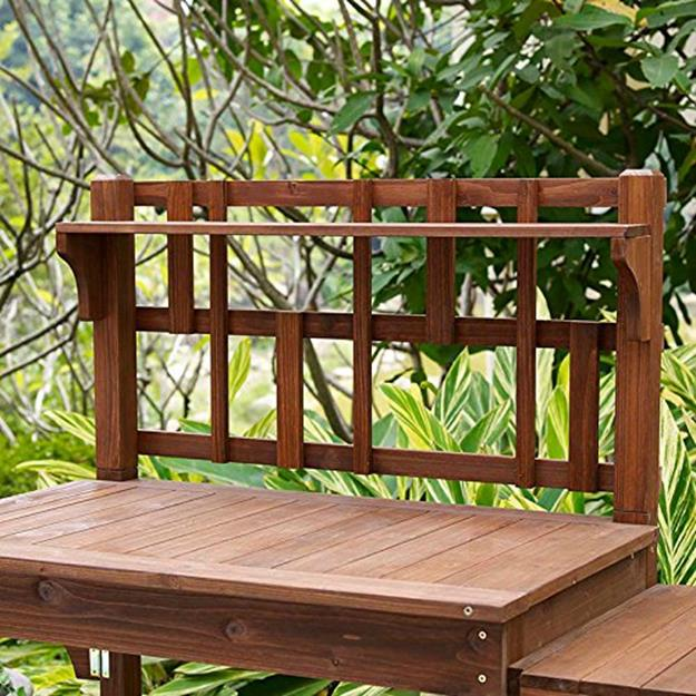 Outdoor Garden Potting Bench Design Ideas 9