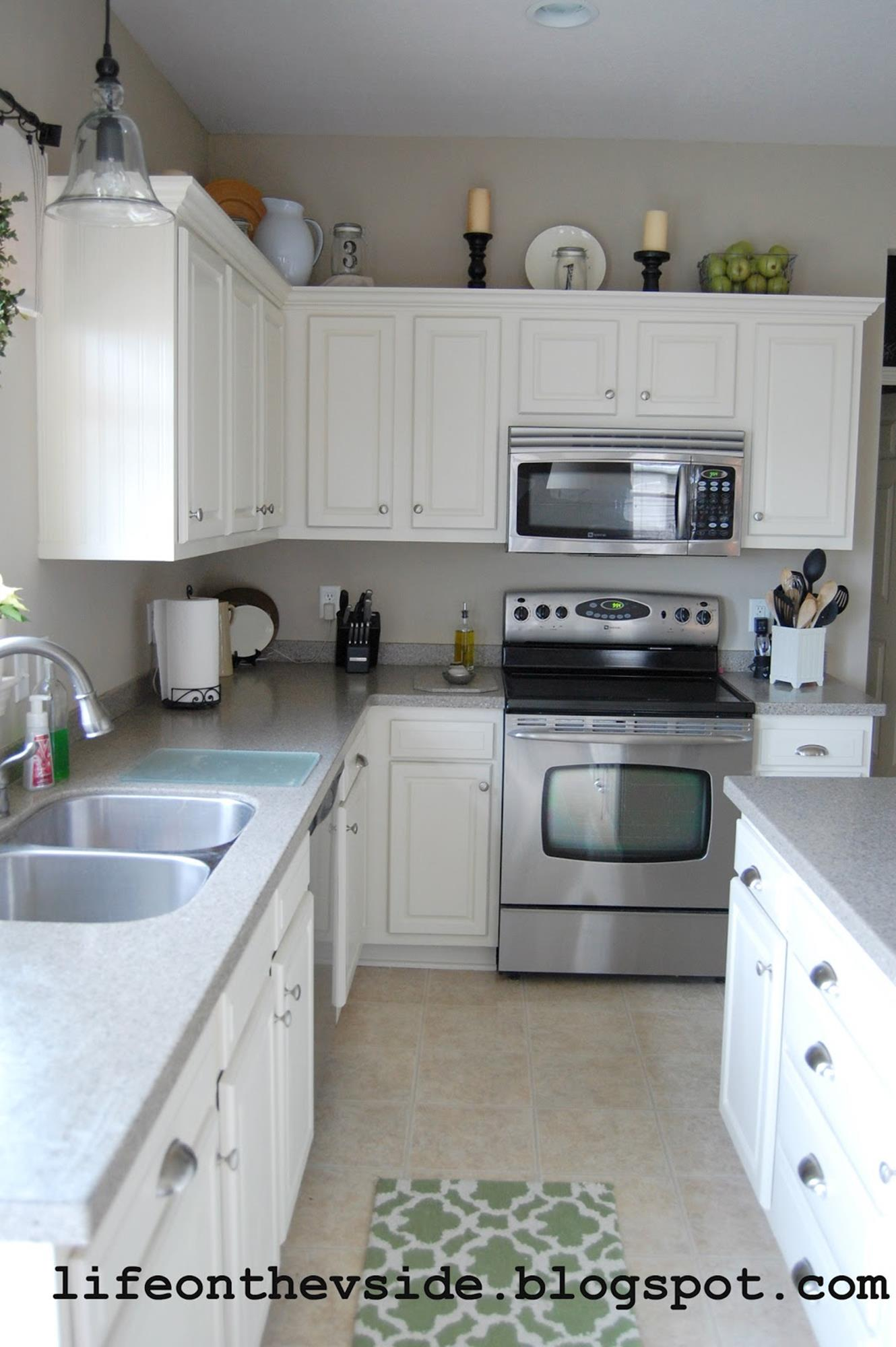 Painted Kitchen Cabinets Before And After 13   DecoRelated