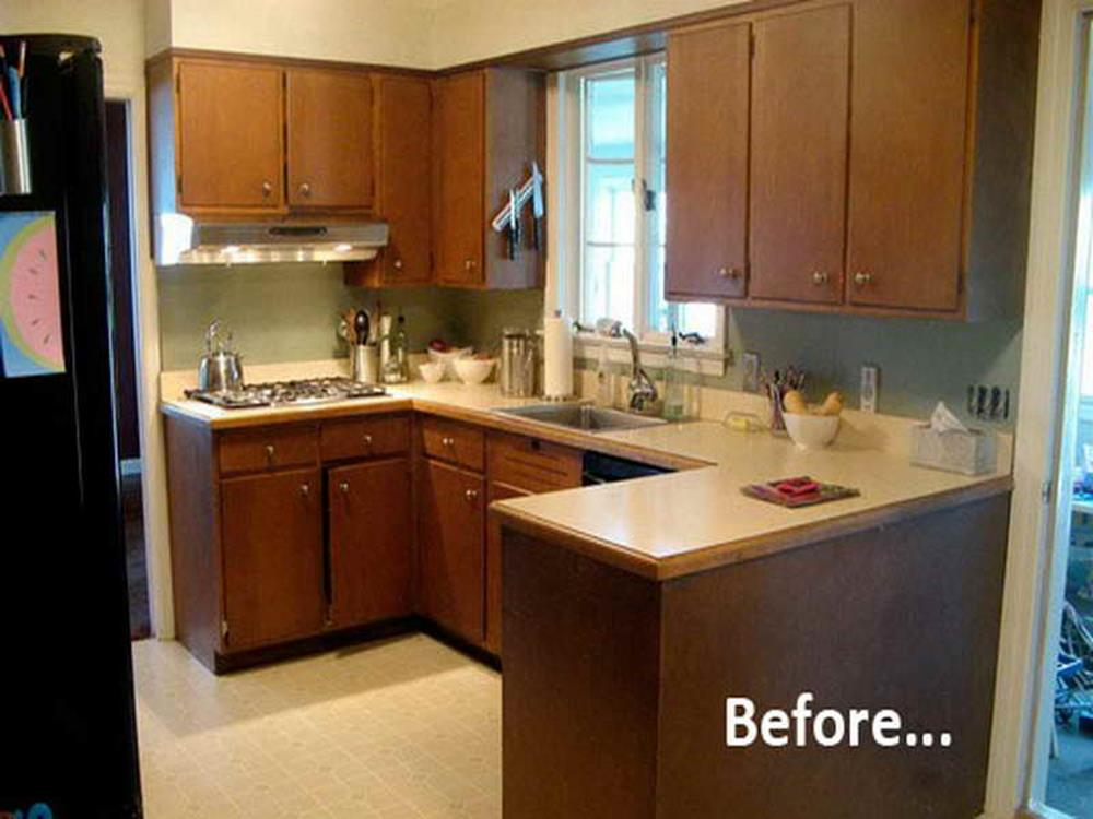 Painted Kitchen Cabinets Before And After 37
