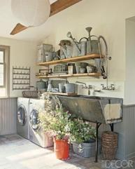 Vintage Laundry Room Decoration Ideas 15
