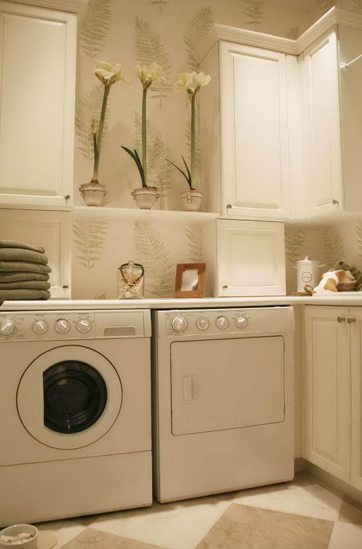 Vintage Laundry Room Decoration Ideas 18