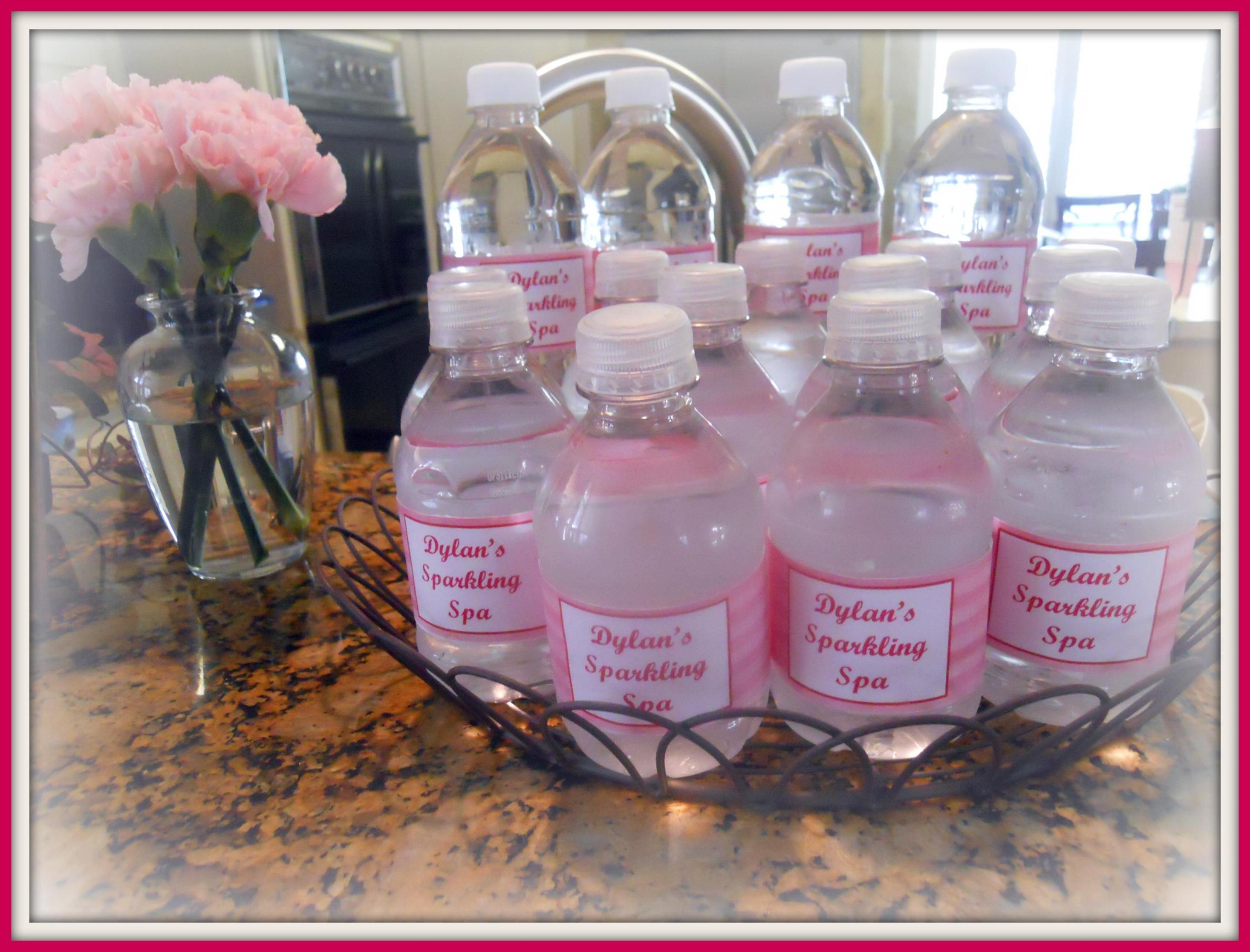 Water Bottle Baby Shower Ideas 11