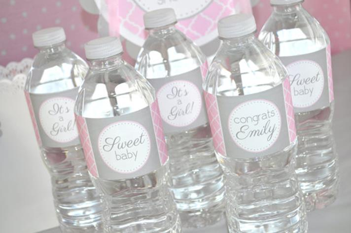 Water Bottle Baby Shower Ideas 20