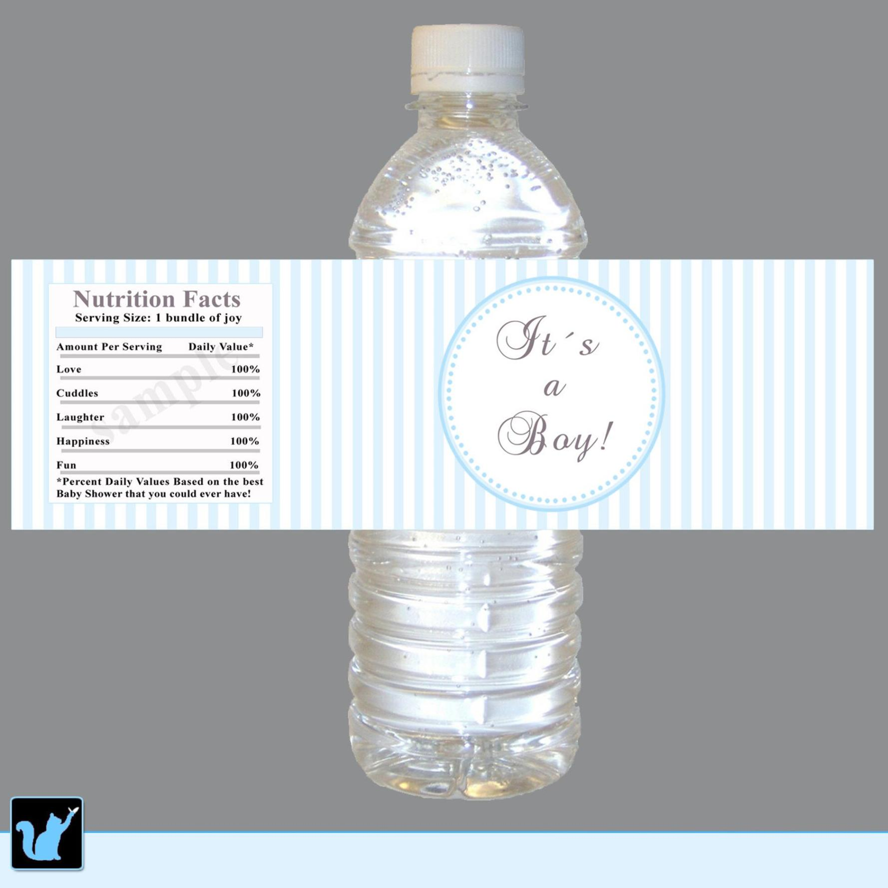 Water Bottle Baby Shower Ideas 22