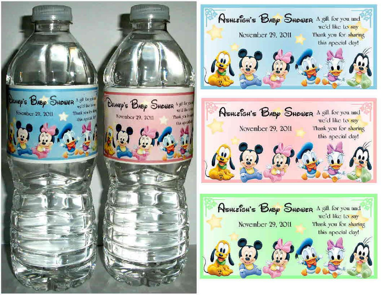 Water Bottle Baby Shower Ideas 26