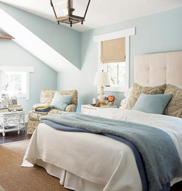 Blue And Beige Bedrooms Decorating Ideas 15
