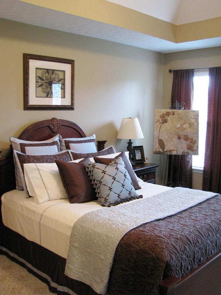 Blue And Beige Bedrooms Decorating Ideas 27