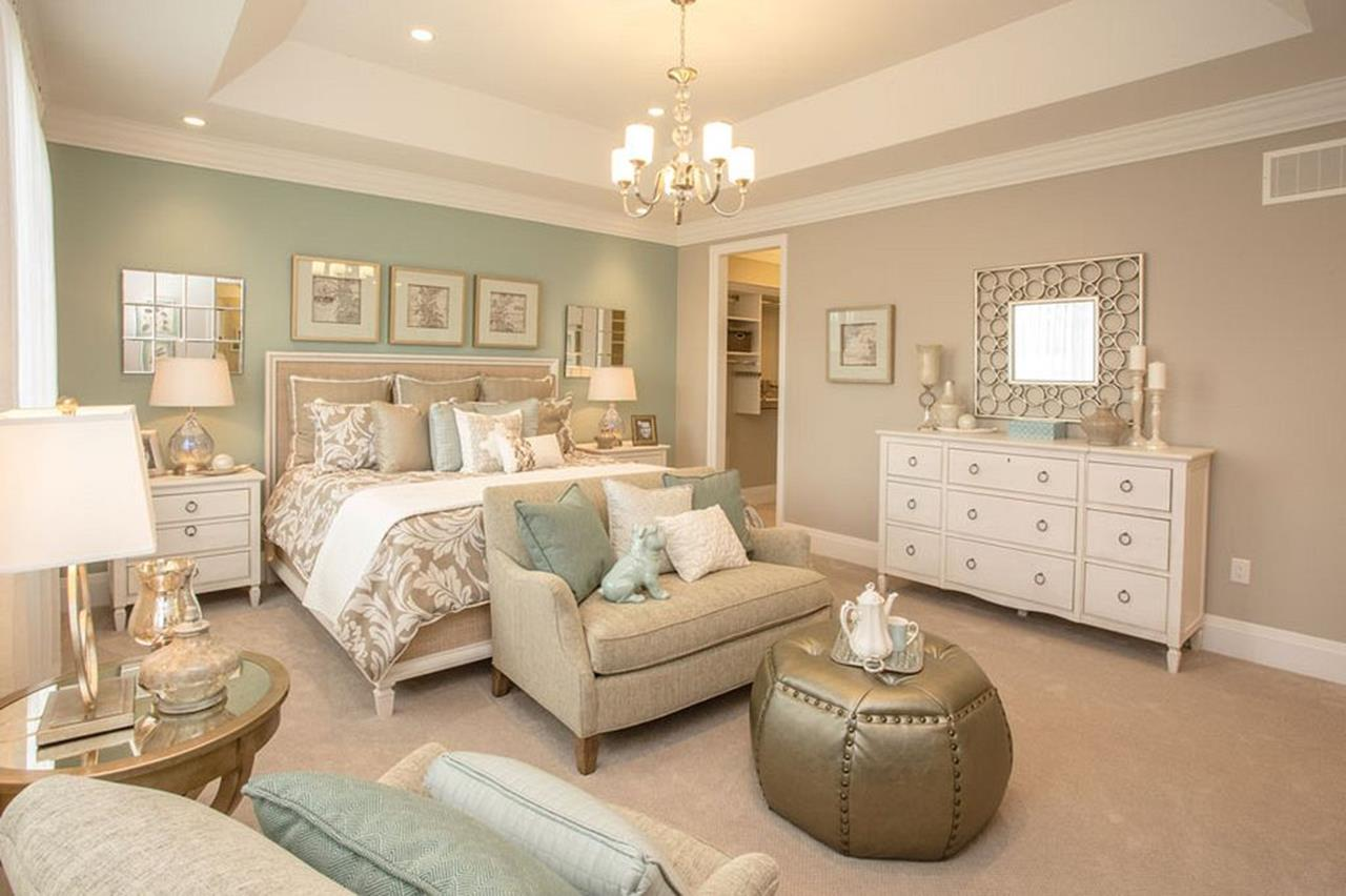 Blue And Beige Bedrooms Decorating Ideas 34