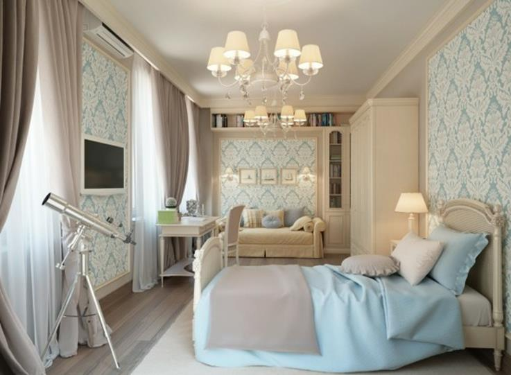 Blue And Beige Bedrooms Decorating Ideas 36