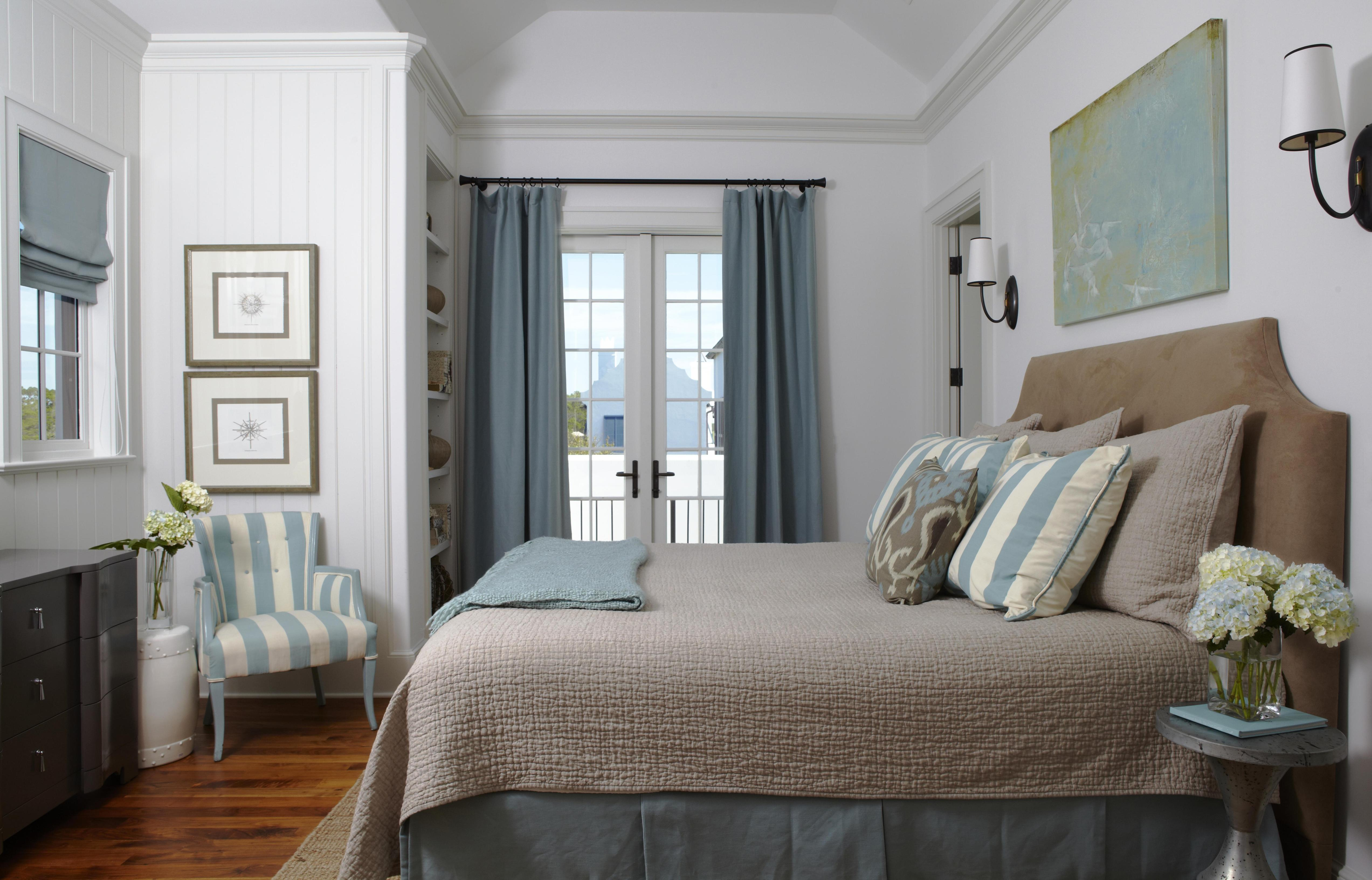Blue And Beige Bedrooms Decorating Ideas 9