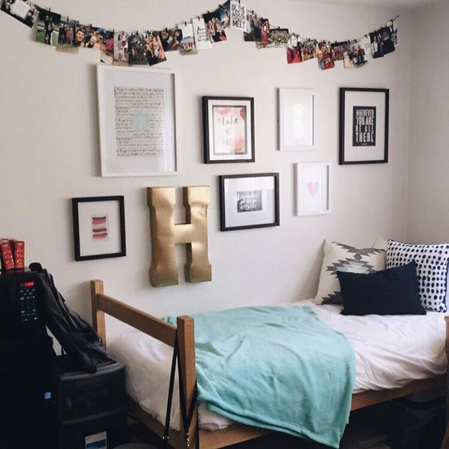 College Dorm Wall Decor For Girl 1