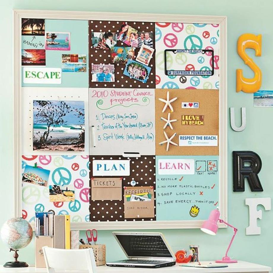 College Dorm Wall Decor For Girl 16