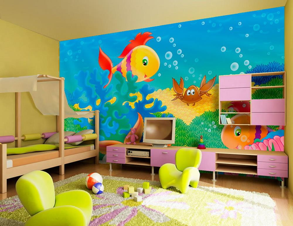 Color Full Kids Room Decorating Ideas On A Budget 11