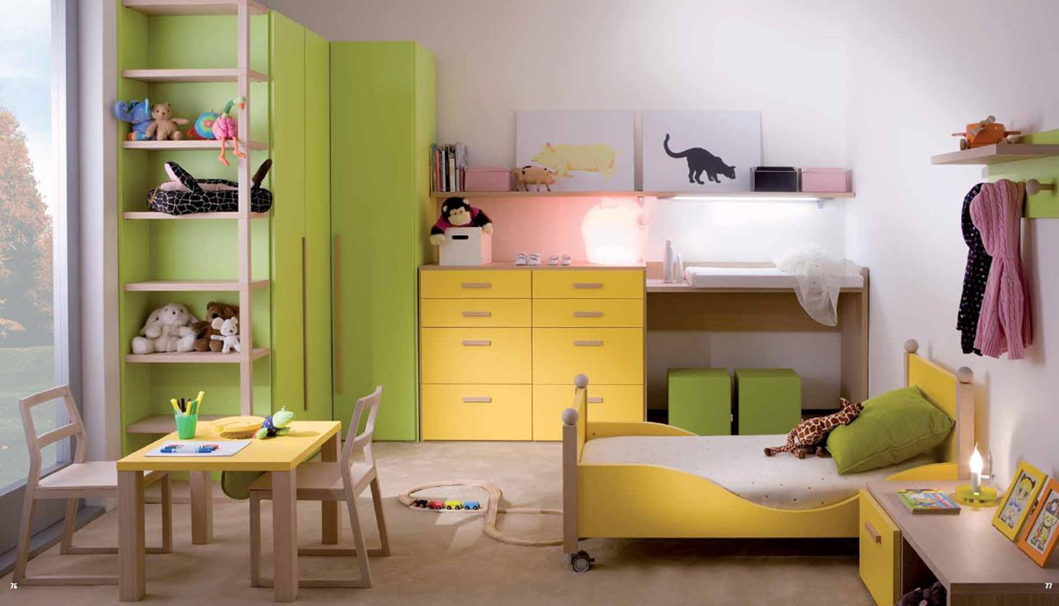 Color Full Kids Room Decorating Ideas On A Budget 3