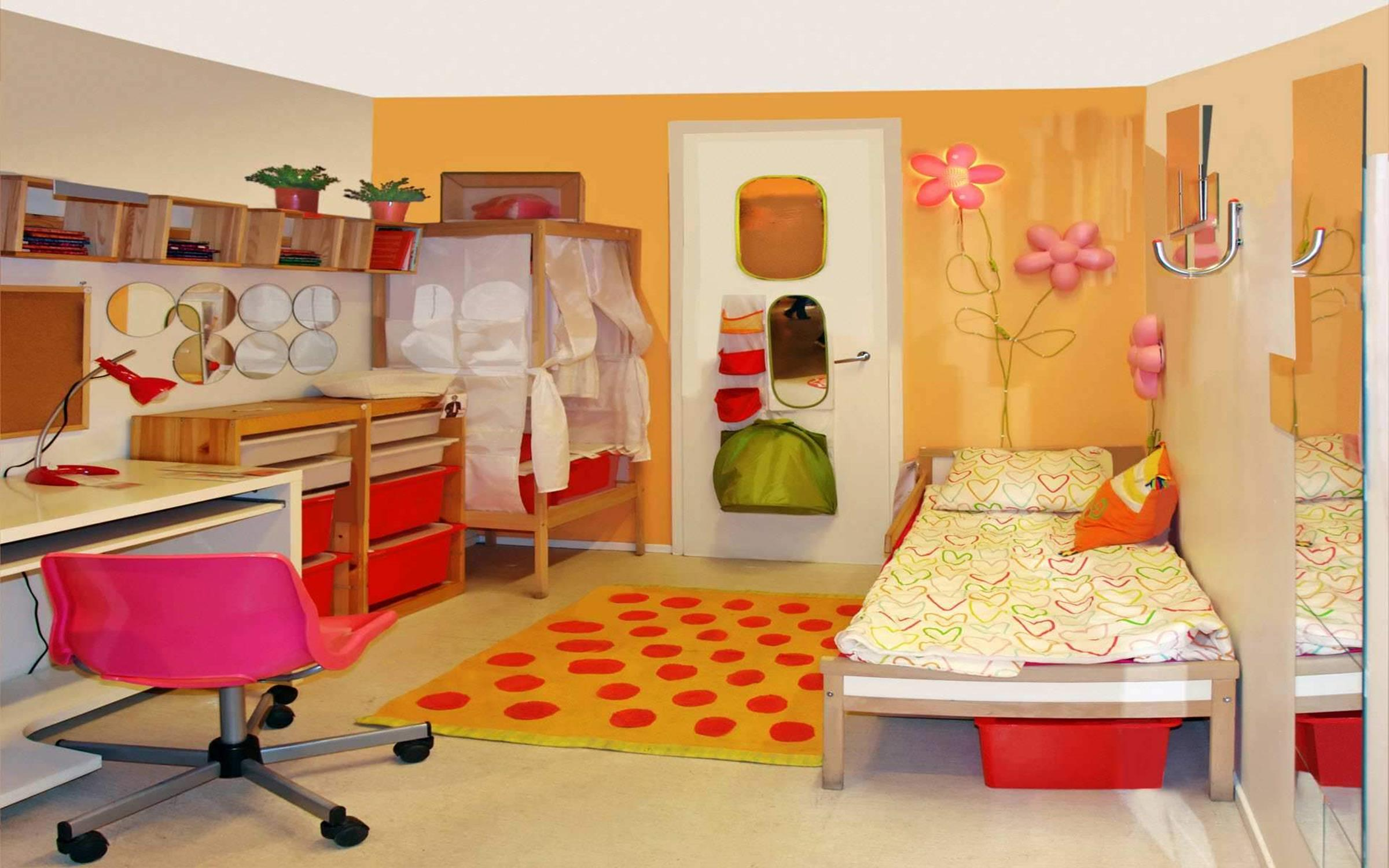 Color Full Kids Room Decorating Ideas On A Budget 33